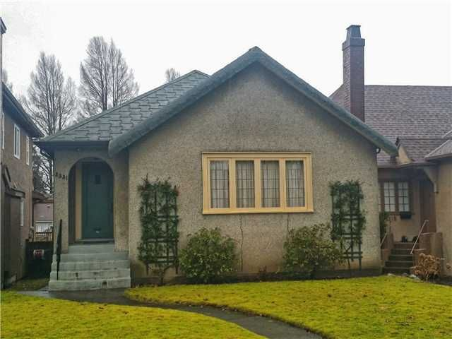 """Main Photo: 3331 W 22ND Avenue in Vancouver: Dunbar House for sale in """"Dunbar"""" (Vancouver West)  : MLS®# V1101230"""