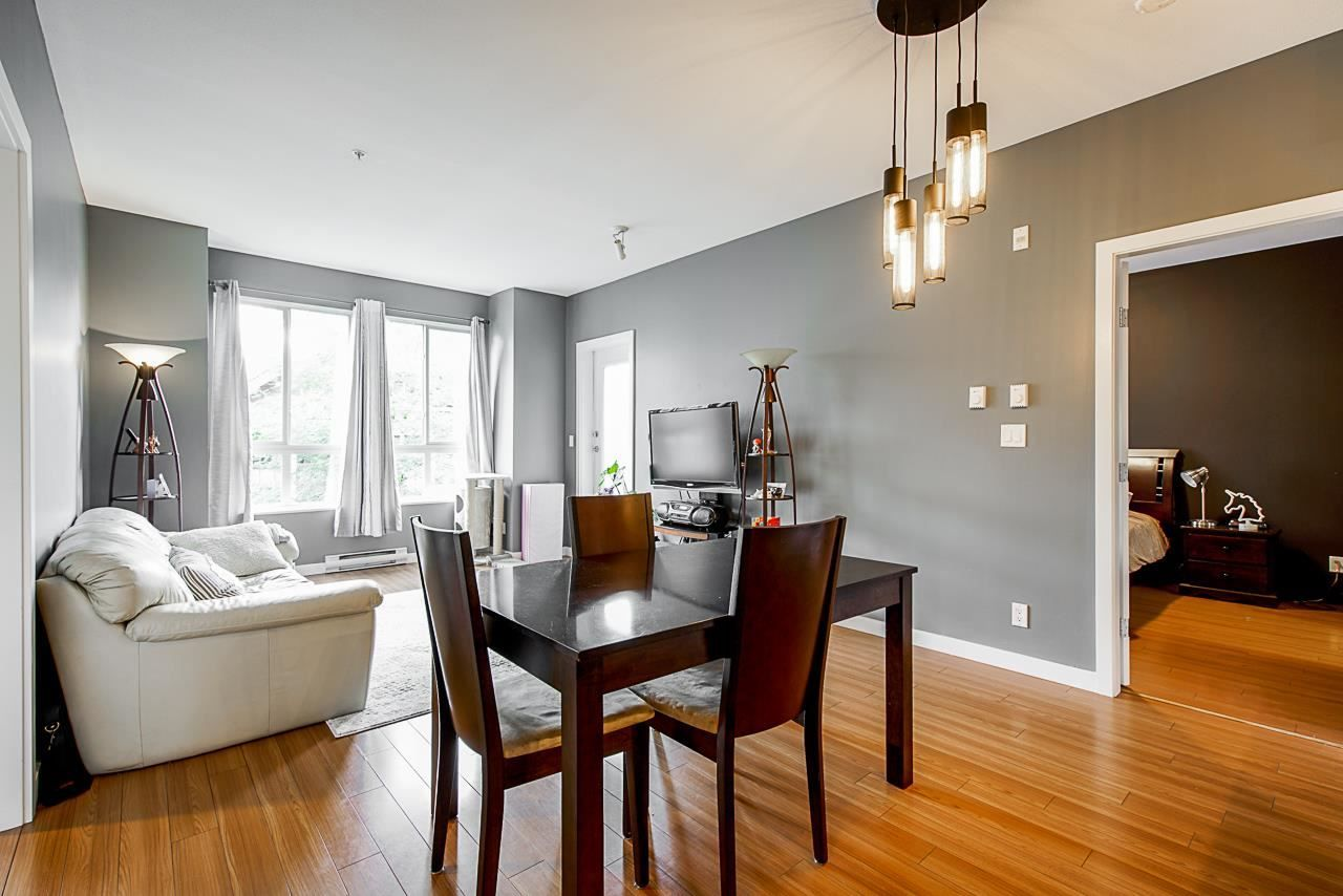 """Main Photo: 314 225 FRANCIS Way in New Westminster: Fraserview NW Condo for sale in """"THE WHITTAKER"""" : MLS®# R2592315"""