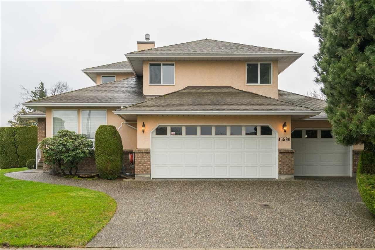 Main Photo: 45590 PIONEER Drive in Chilliwack: Sardis West Vedder Rd House for sale (Sardis)  : MLS®# R2439936