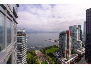 """Photo 1: 2804 1205 W HASTINGS Street in Vancouver: Coal Harbour Condo for sale in """"CIELO"""" (Vancouver West)  : MLS®# V1026183"""