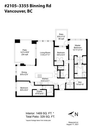 """Photo 33: 2105 3355 BINNING Road in Vancouver: University VW Condo for sale in """"Binning Tower"""" (Vancouver West)  : MLS®# R2611409"""
