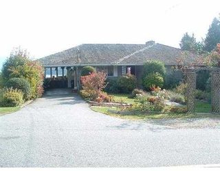Photo 1: 616 N FLETCHER RD in Gibsons: Gibsons & Area House for sale (Sunshine Coast)  : MLS®# V562840