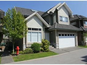 Main Photo: 26-3363 Rosemary Heights in Surrey: Morgan Creek Townhouse for sale