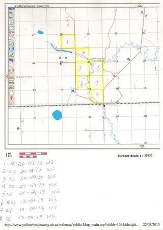 Photo 4: NE 13-54 Range Road 130: Niton Junction Rural Land for sale (Edson)  : MLS®# 32591