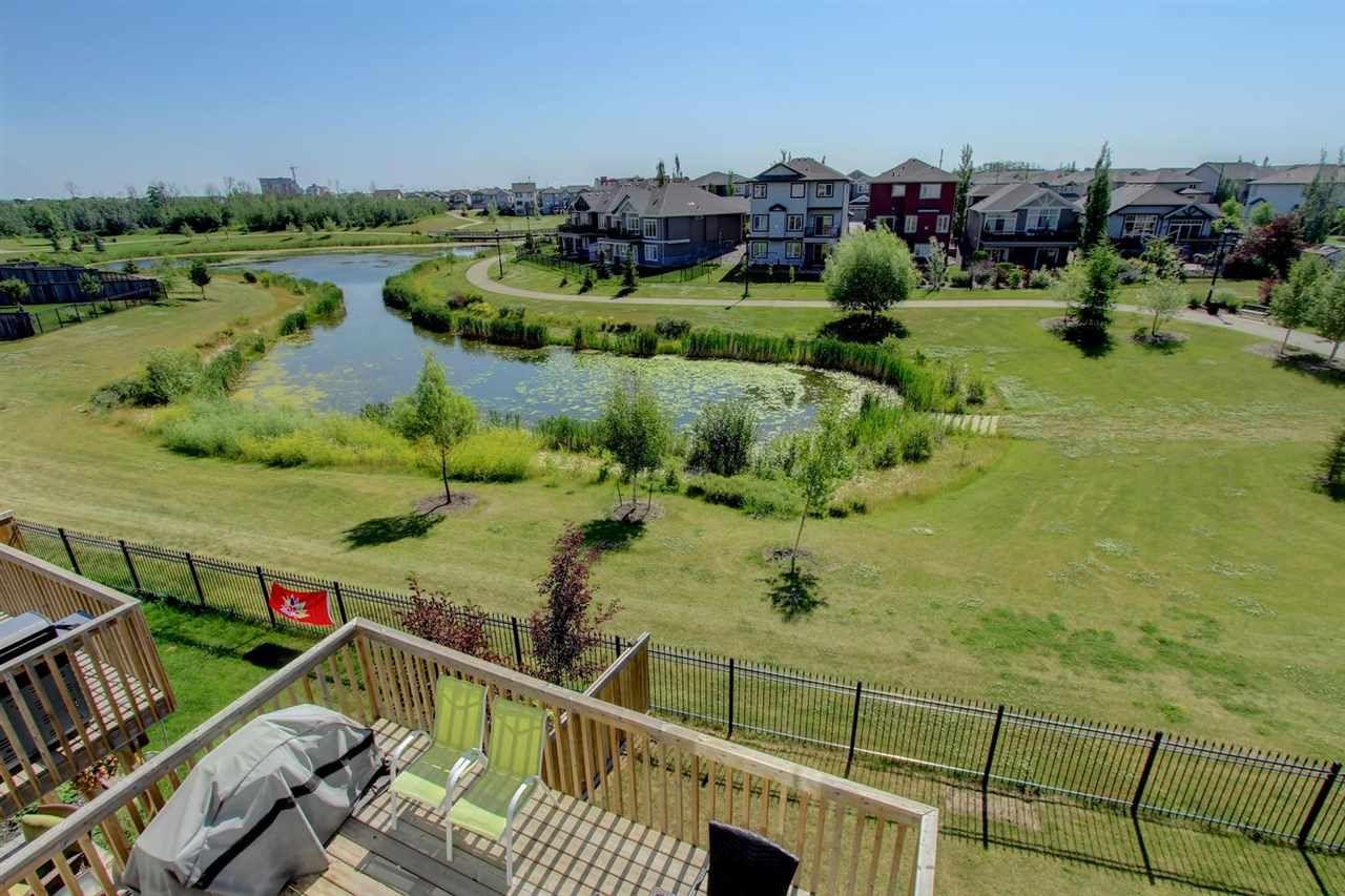 Main Photo: Windermere in Edmonton: Zone 56 House Half Duplex for sale