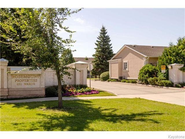 Photo 2: Photos: 650 Warde Avenue in Winnipeg: River Park South Condominium for sale (2F)  : MLS®# 1622113