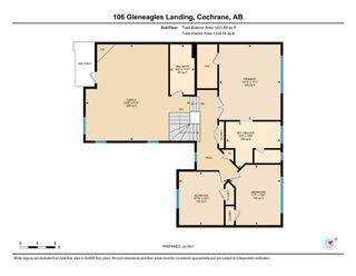 Photo 37: 106 Gleneagles Landing: Cochrane Detached for sale : MLS®# A1130993