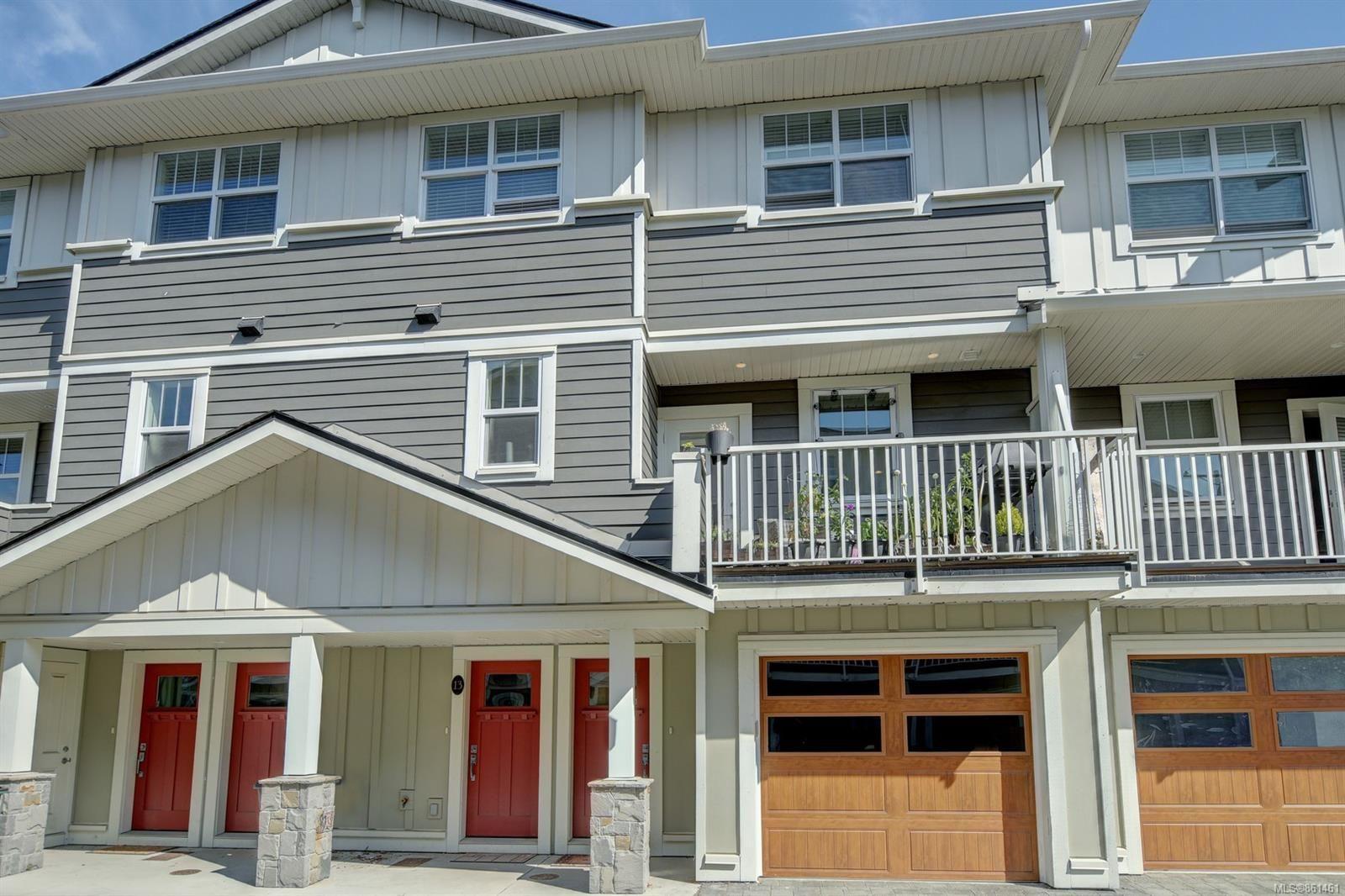 Main Photo: 13 3356 Whittier Ave in Saanich: SW Rudd Park Row/Townhouse for sale (Saanich West)  : MLS®# 861461