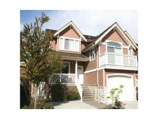 """Photo 1: 18 1506 EAGLE MOUNTAIN Drive in Coquitlam: Westwood Plateau Townhouse for sale in """"RIVER ROCK"""" : MLS®# V884983"""