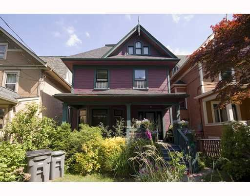Main Photo: 31 W 11TH Avenue in Vancouver: Mount Pleasant VW House for sale (Vancouver West)  : MLS®# V773321