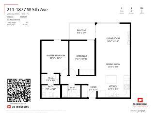 """Photo 26: 211 1877 W 5TH Avenue in Vancouver: Kitsilano Condo for sale in """"5TH AVENUE WEST"""" (Vancouver West)  : MLS®# R2548943"""