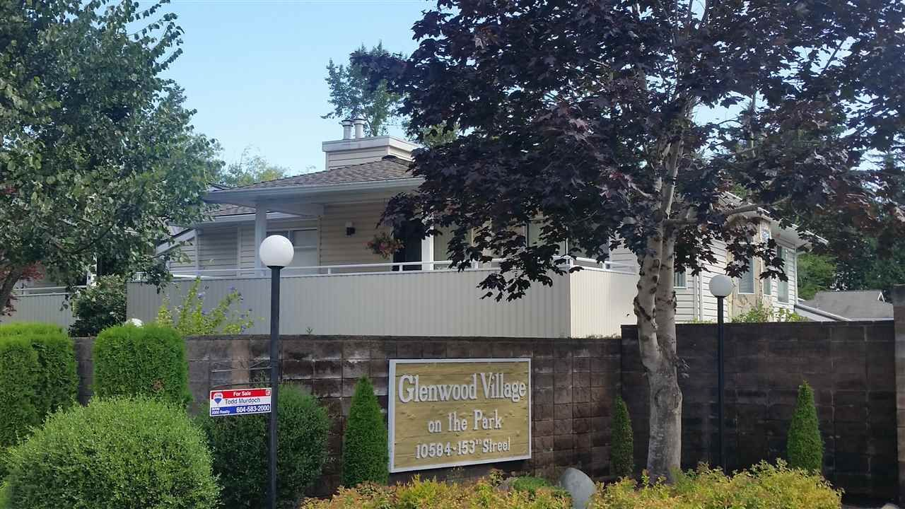 """Main Photo: 227 10584 153RD Street in Surrey: Guildford Townhouse for sale in """"glenwood village on the park"""" (North Surrey)  : MLS®# R2097810"""
