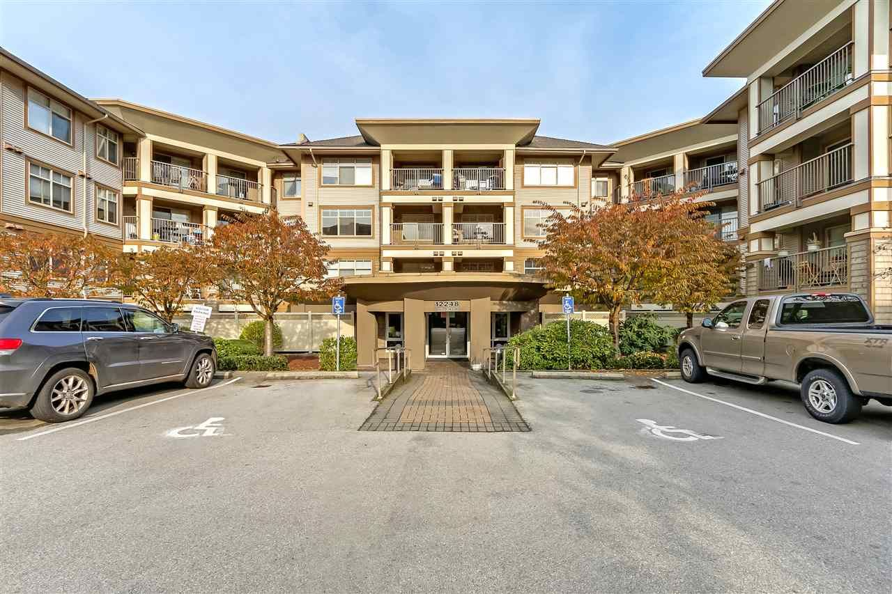 "Main Photo: 314 12248 224 Street in Maple Ridge: East Central Condo for sale in ""URBANO"" : MLS®# R2322354"