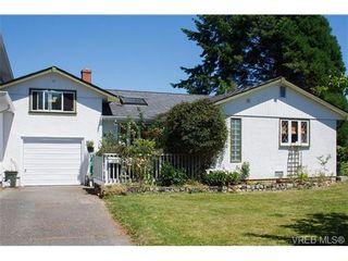 Photo 1: 2238 Edgelow St in VICTORIA: SE Arbutus Half Duplex for sale (Saanich East)  : MLS®# 658376