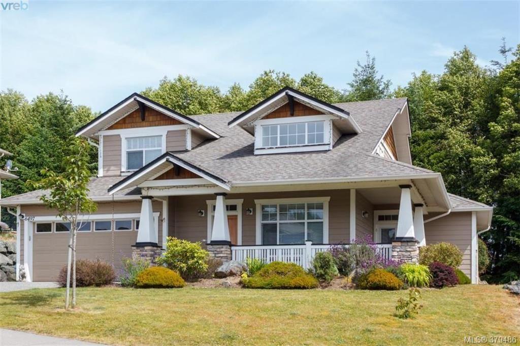 Main Photo: 6497 Riverstone Dr in SOOKE: Sk Sunriver House for sale (Sooke)  : MLS®# 762237