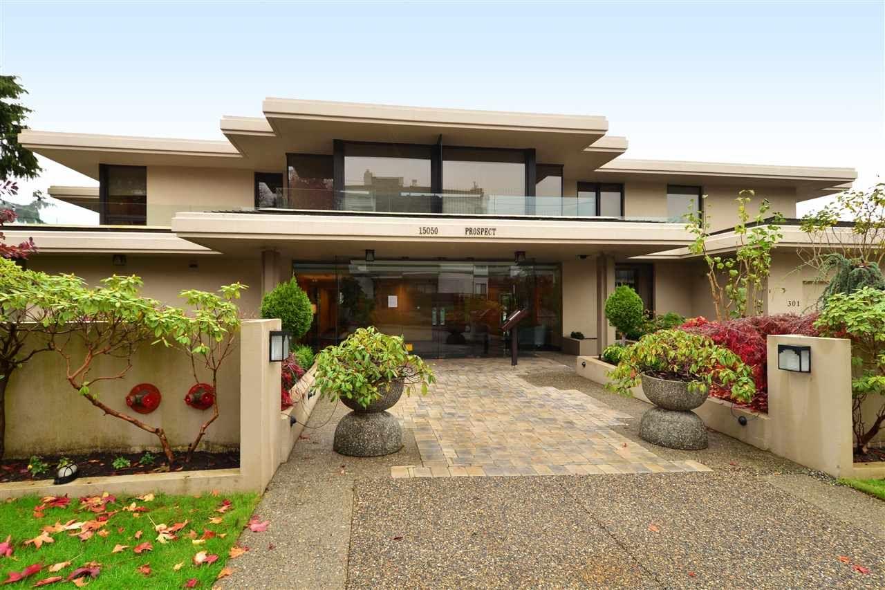 """Main Photo: 202 15050 PROSPECT Avenue: White Rock Condo for sale in """"The Contessa"""" (South Surrey White Rock)  : MLS®# R2323288"""