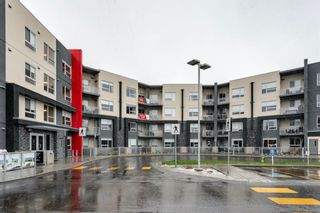 Photo 1: 208 8530 8A Avenue SW in Calgary: West Springs Apartment for sale : MLS®# A1110746
