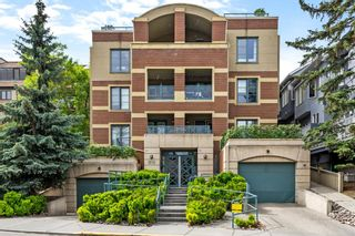 Main Photo: 101 1235 Cameron Avenue SW in Calgary: Lower Mount Royal Apartment for sale : MLS®# A1117440