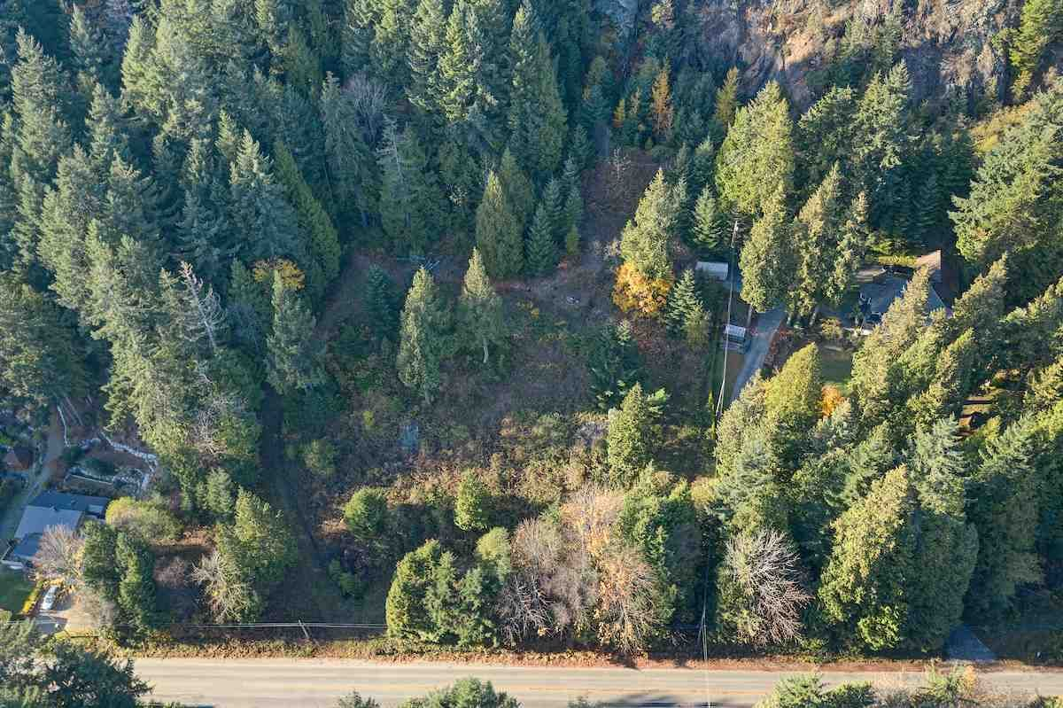 Aerial of Lots 1 & 2. Lots are clear of trees and have established pathways for separate driveways to Lots 1 & 2. Buy one or both lots to build an oceanview home in a great location.