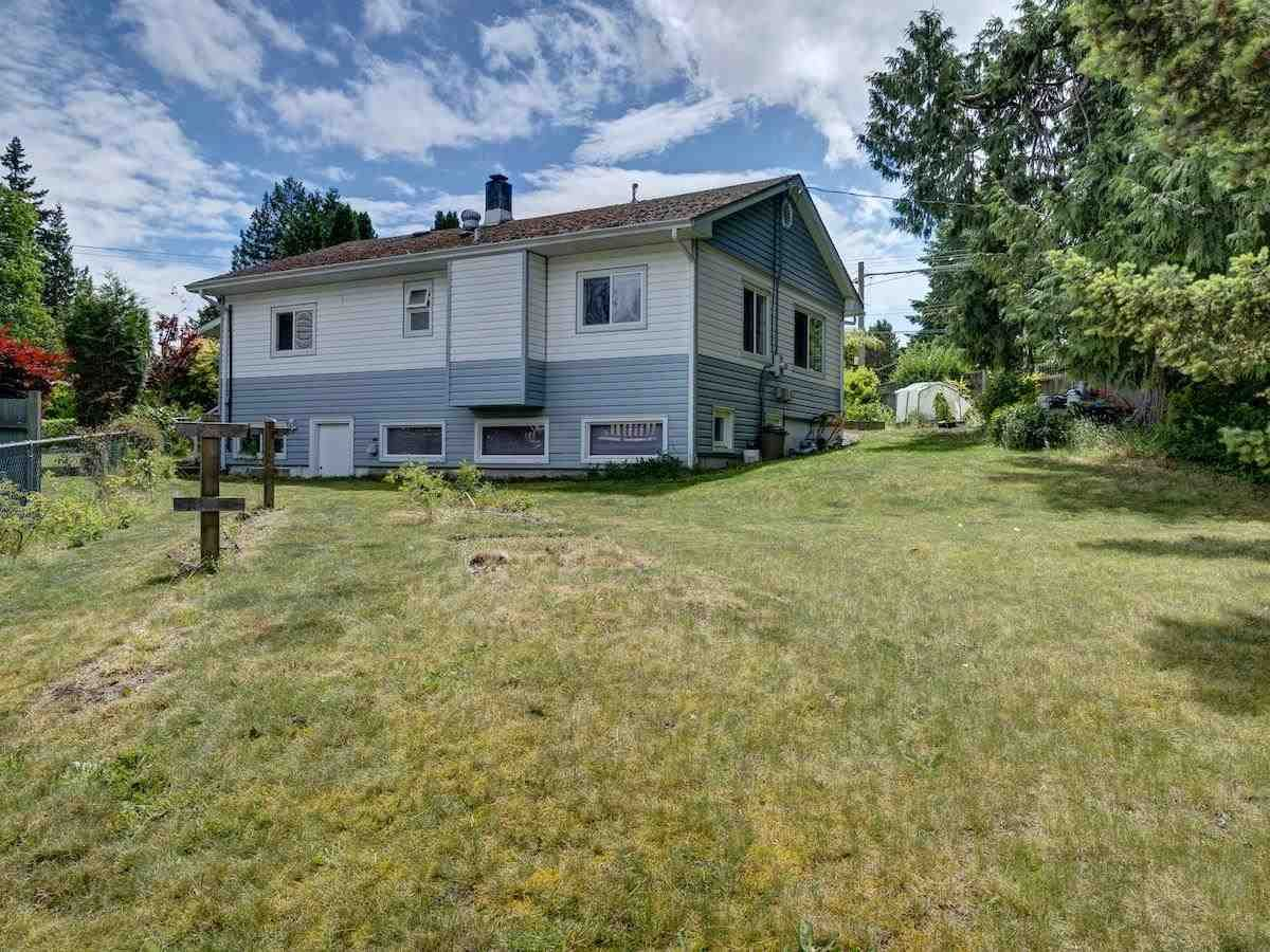 Large sunny corner lot with laneway access, steps to Marina and downtown Sechelt.