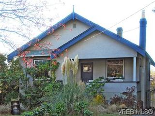 Photo 1: 322 Irving Rd in VICTORIA: Vi Fairfield East House for sale (Victoria)  : MLS®# 589580