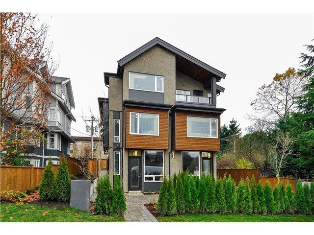 """Main Photo: 1806 E PENDER Street in Vancouver: Hastings Townhouse for sale in """"AZALEA HOMES"""" (Vancouver East)  : MLS®# V1051665"""