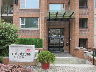 Photo 1: 120 4728 DAWSON Street in Burnaby: Brentwood Park Condo for sale (Burnaby North)  : MLS®# V1088631