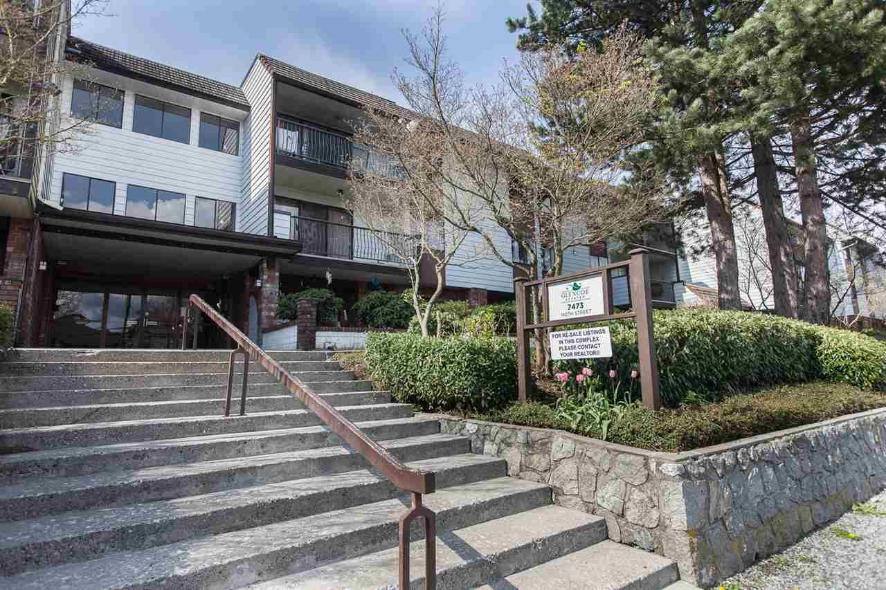 "Main Photo: 302 7473 140 Street in Surrey: East Newton Condo for sale in ""Glencoe Estates"" : MLS®# R2244158"