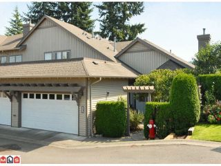 "Photo 1: 3 14909 32ND Avenue in Surrey: King George Corridor Townhouse for sale in ""Ponderosa Station"" (South Surrey White Rock)  : MLS®# F1101085"