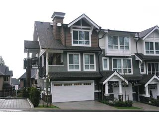 """Photo 1: 115 1460 SOUTHVIEW Street in Coquitlam: Burke Mountain Townhouse for sale in """"CEDAR CREEK"""" : MLS®# V984770"""