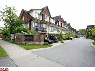 """Photo 1: 19 7155 189TH Street in Surrey: Clayton Townhouse for sale in """"Bacara"""" (Cloverdale)  : MLS®# F1114971"""