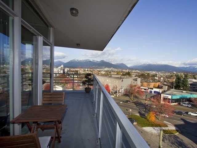 View from Wraparound Balcony