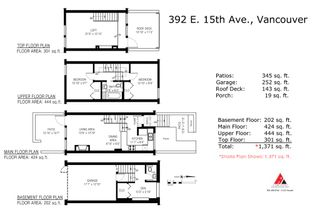 Photo 20: 392 E 15TH Avenue in Vancouver: Mount Pleasant VE Townhouse for sale (Vancouver East)  : MLS®# R2349680