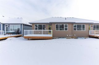 Photo 40: 8128 222 Street in Edmonton: Zone 58 House Half Duplex for sale : MLS®# E4228102