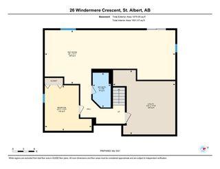 Photo 49: 26 Windermere Crescent: St. Albert House for sale : MLS®# E4235559