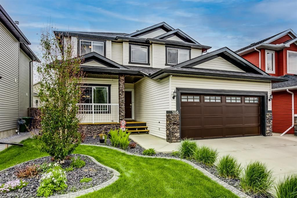 Main Photo: 186 Thornleigh Close SE: Airdrie Detached for sale : MLS®# A1117780