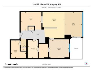 Photo 16: 310 188 15th Avenue SW in Calgary: Beltline Apartment for sale : MLS®# A1129695