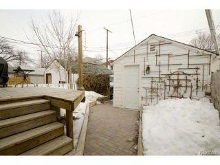 Photo 17: 531 Lipton Street in WINNIPEG: West End / Wolseley Residential for sale (West Winnipeg)  : MLS®# 1505517
