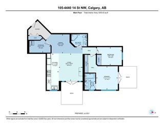 Photo 35: 105 4440 14 Street NW in Calgary: North Haven Apartment for sale : MLS®# A1125562