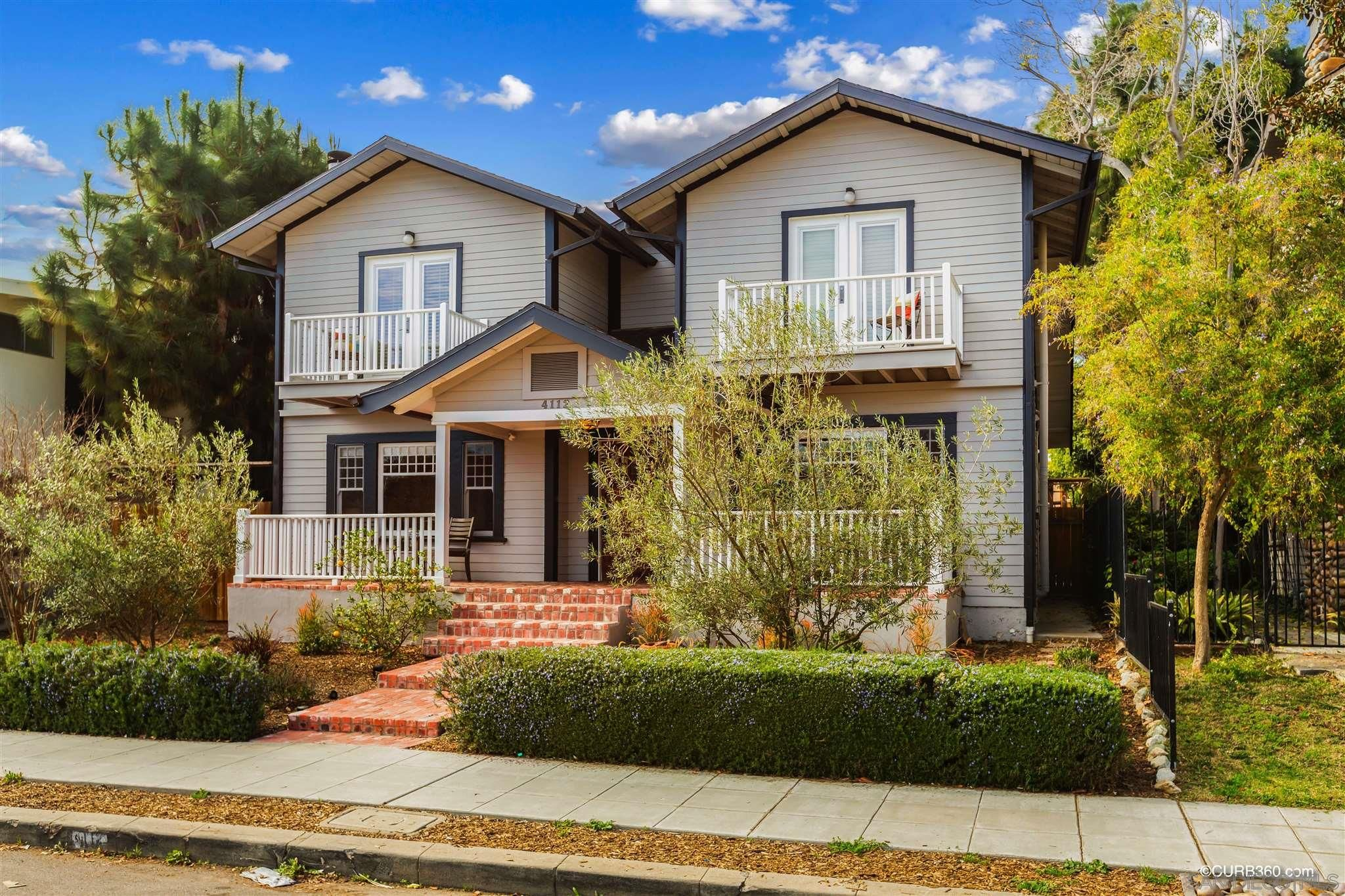 Main Photo: MISSION HILLS House for sale : 3 bedrooms : 4112 Jackdaw in San Diego