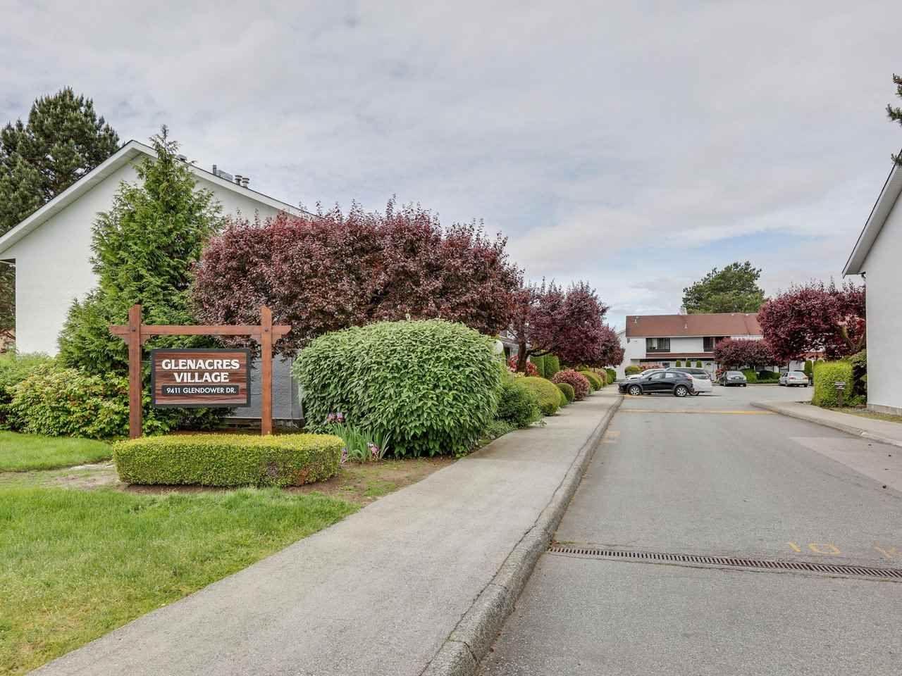 "Main Photo: 344 9411 GLENDOWER Drive in Richmond: Saunders Townhouse for sale in ""GLENACRES VILLAGE"" : MLS®# R2463768"