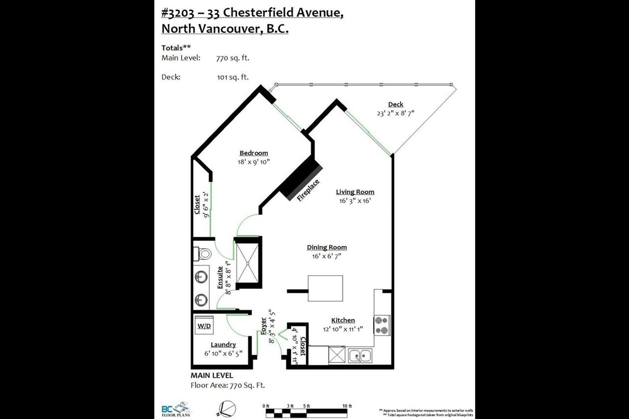 Photo 20: Photos: 3203 33 CHESTERFIELD Place in North Vancouver: Lower Lonsdale Condo for sale : MLS®# R2388716