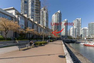 """Photo 4: 110 1228 MARINASIDE Crescent in Vancouver: Yaletown Townhouse for sale in """"Crestmark II"""" (Vancouver West)  : MLS®# R2564048"""