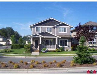 "Photo 1: 36005 STEPHEN LEACOCK Drive in Abbotsford: Abbotsford East House for sale in ""Auguston"" : MLS®# F2718487"