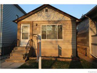 Photo 1: 853 Ashburn Street in Winnipeg: West End / Wolseley Residential for sale (West Winnipeg)  : MLS®# 1611676