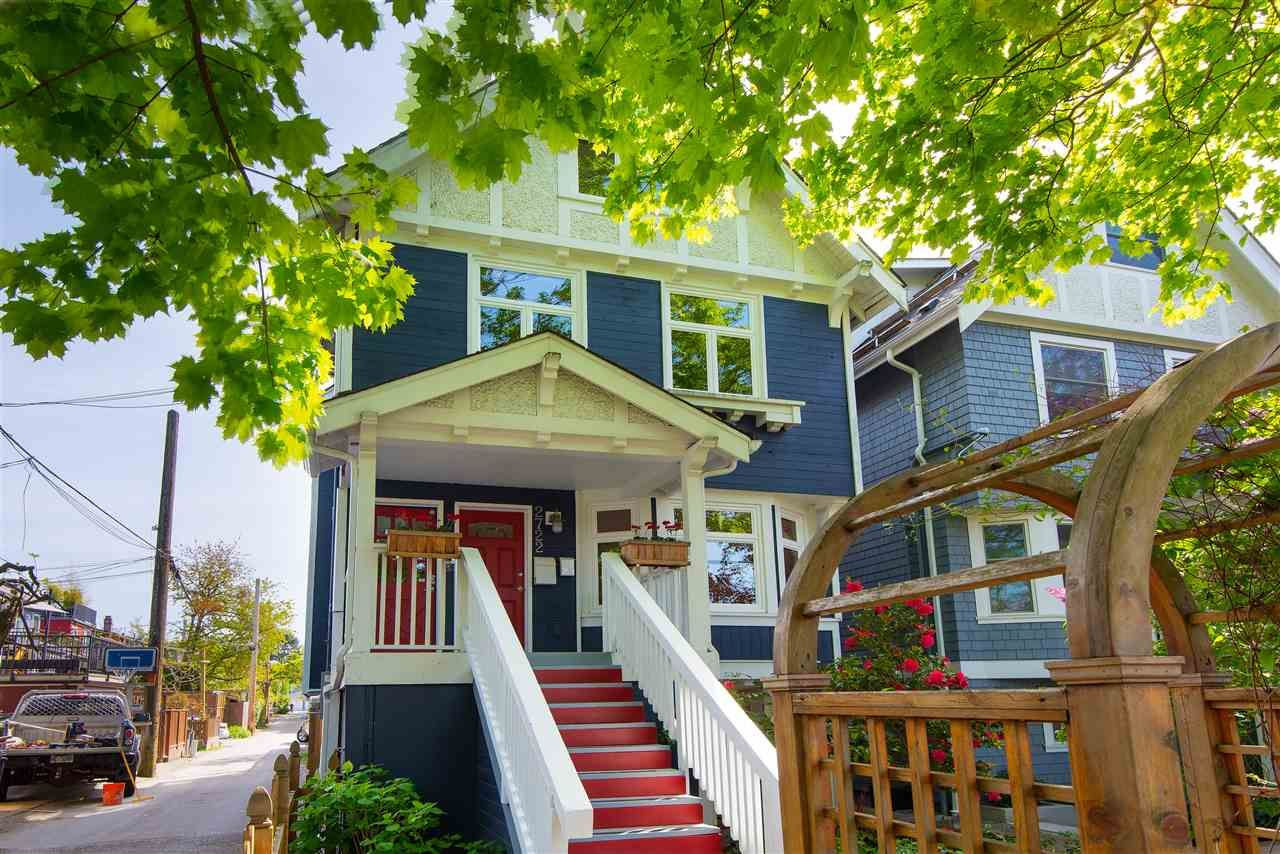 Main Photo: 2720 W 6TH AVENUE in Vancouver: Kitsilano House for sale (Vancouver West)  : MLS®# R2366450