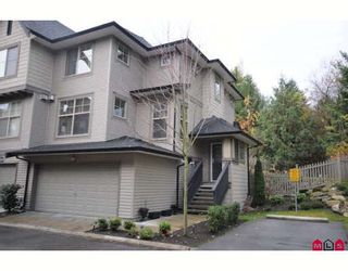 """Photo 1: 49 15152 62A Avenue in Surrey: Sullivan Station Townhouse for sale in """"Uplands"""" : MLS®# F2831409"""