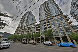 Photo 1: 538 222 Riverfront Avenue SW in Calgary: Chinatown Apartment for sale : MLS®# A1125580