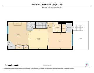 Photo 33: 340 Quarry Park Boulevard SE in Calgary: Douglasdale/Glen Row/Townhouse for sale : MLS®# A1123884