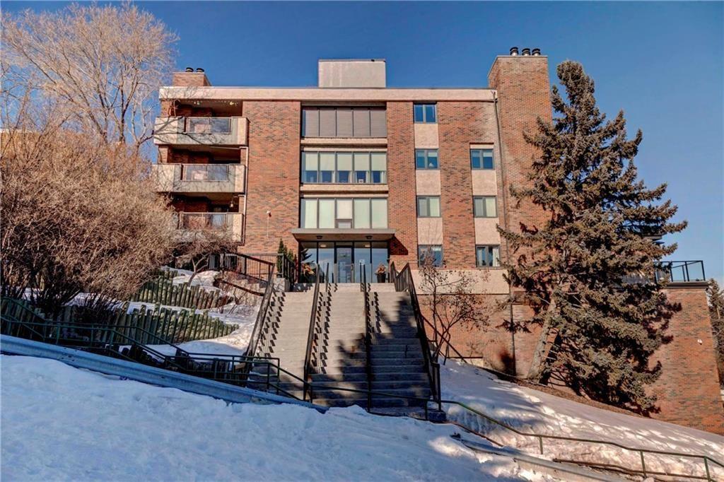 Main Photo: 401 354 2 Avenue NE in Calgary: Crescent Heights Condo for sale : MLS®# C4170237